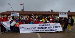 """""""Damla Projesi"""" Gönüllü Öğrencileri Siverek'te"""