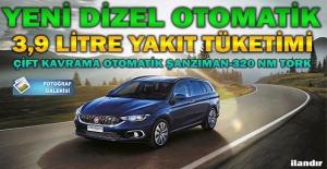 Dizel otomatik Fiat Egea Station Wagon Önkol'da