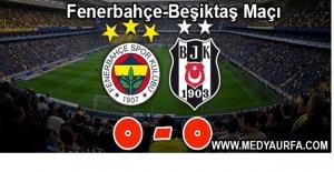 Fenerbahçe-Beşiktaş Maçı Başladığı Gibi Bitti