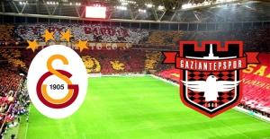 Galatasaray ile Gaziantepspor 61. Randevuda