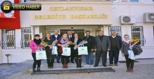 Gönüllüler Ceylanpınar'da Minikleri Sevindirdi