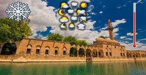Şanlıurfa'da yeni haftada hava durumu
