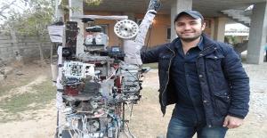 Silopili Genç Tarla Güvenliği İçin Robot Yaptı