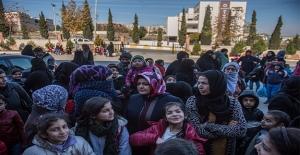 Suriyeli Yetimlere Yardım Yapıldı