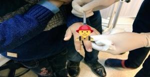 11 Yaşındaki Çocuğun Parmağına Yüzük Sıkıştı