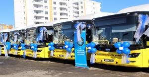 Diyarbakır'da Ulaşıma Doğalgazlı Otobüs Takviyesi
