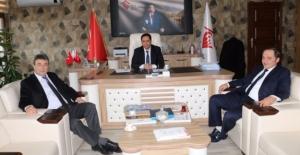 Emiroğlu, Harran Konteynır Kenti Ziyaret Etti