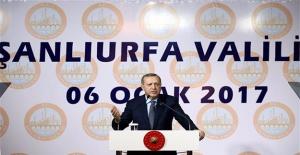 Erdoğan: Şanlıurfa'daki Otellerde Doluluk Oranı Artacak
