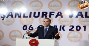 Erdoğan Urfa'da Kanaat Önderleri Toplantısında Konuştu
