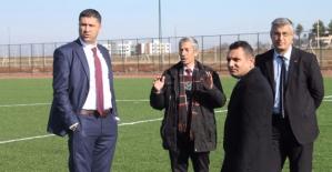 Hakan Keşküş Viranşehir'de İncelemelerde Bulundu