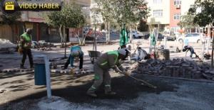 Haliliye'de Parklar Bahara Hazırlanıyor