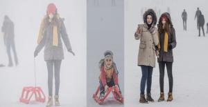 Karacadağ Kayak Merkezi Minik Ziyaretçilerini Bekliyor