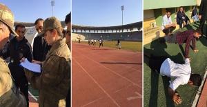 Korucu Adayları GAP Arena'da Sınava Tabi Tutuldu