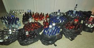 Şanlıurfa Karayolunda Kaçak İçki Ele Geçirildi
