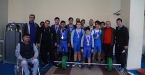 Urfalı Gençler Halter Şampiyonası Sona Erdi