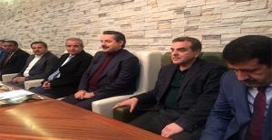 Bakan Çelik, Ankara'da Şanlıurfa Heyeti ile Görüştü