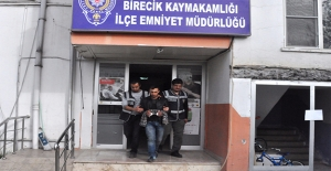 Etekli Hırsız Birecik'te Tutuklandı