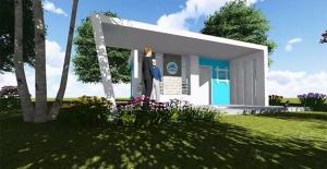 Eyyübiye'de ''Muhtar Evi'' Projesinin Yapımları Sürüyor