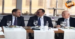 Gülpınar, AB Ülkelerinin Başkonsoloslarıyla Bir Araya Geldi