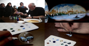 İstanbul'u Bir Çekirdeğe Sığdıran Sanatçı
