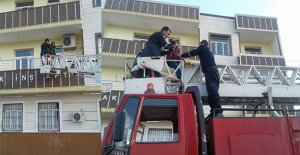 Şanlıurfa'da Eşi Tarafından Darp Edilen Kadın Kurtarıldı