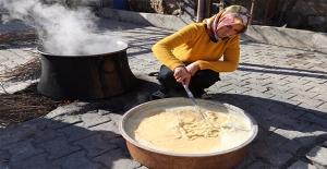 Şanlıurfa'da Taze Pestilleri Kış Güneşinde Üretiyorlar