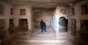 Şanlıurfa'nın Kaya Mezarları Turizme Açılacak
