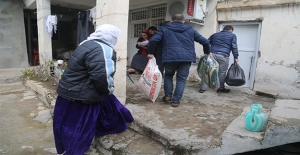 Şanlıurfa'dan Silopi'ye İnsani Yardım