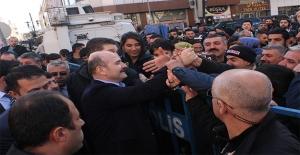 Soylu'ya Diyarbakır'da Sevgi Seli