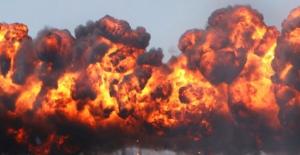 Afrin'de teröristlerin bomba tuzakladığı binada patlama: 11 ölü