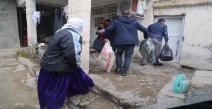 Urfa'dan Silopi'ye Yardım