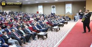 Ahmet Aydın Urfa'da Cumhurbaşkanlığı Sistemini Anlattı
