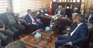 AK Vekil Kaçar'dan Arslan'a Ziyaret