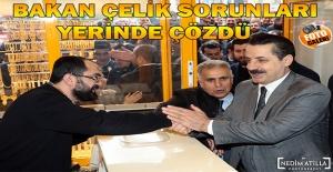 Bakan Çelik Şanlıurfa#039;da Esnafın...