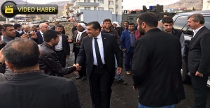Başkan Atilla Mardin'de
