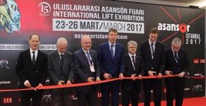 Büyükhatipoğlu, Uluslararası Asansör Fuarını Açtı
