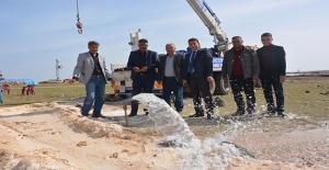 Ceylanpınar'da Göçerlerin Su Sorunu Çözüldü