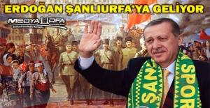 Cumhurbaşkanı Erdoğan#039;ın Şanlıurfa#039;ya...