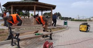 Harran'da Şehit İbrahim Taş'ın Parkı Bahara Hazır