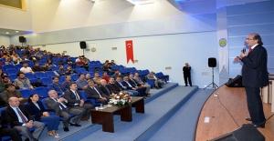 Harran Üniversitesi'nde Helal Gıda Konferansı