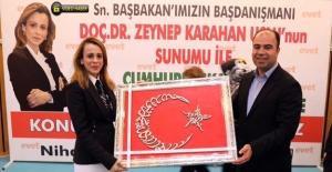 Karahan Şanlıurfa'da Cumhurbaşkanlığı Sistemini Anlattı