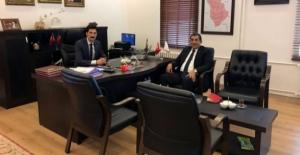 Menderes Atilla'dan Derik Belediye Başkanına Ziyaret