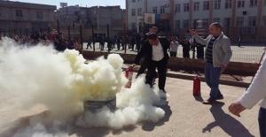 Şanlıurfa'da Zılgıtlı Yangın Tatbikatı
