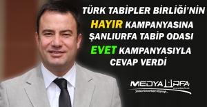Şanlıurfa#039;dan Türk Tabipler...