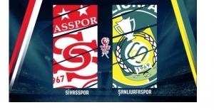 Şanlıurfaspor : 2 Sivasspor : 1