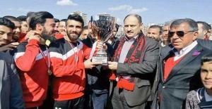 Siverek Belediyespor'da Kupa Sevinci
