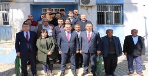 Tarım Bakanlığı Müsteşarı Yazıcı Harran'da