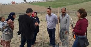 Tarım Danışmanları Urfalı Çiftçi'ye Bilgi Verdi