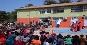 Viranşehir'de Öğrencilere Sirk Gösterisi Yapıldı