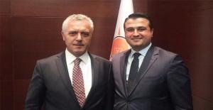 Bahattin Yıldız, Mustafa Ataş'ı Ziyaret Etti